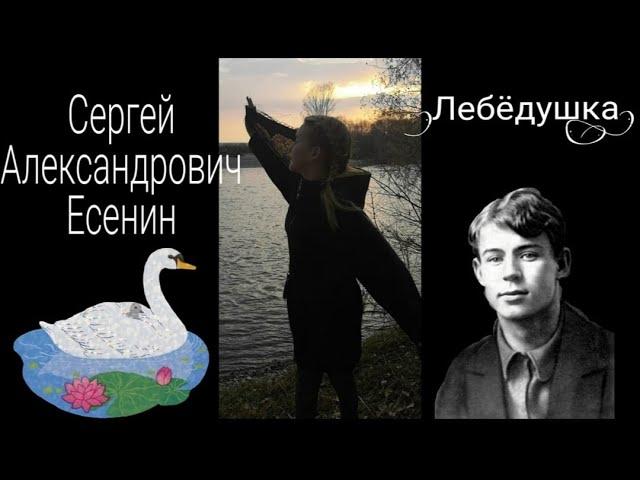 Изображение предпросмотра прочтения – ВикаГречкина читает произведение «Лебёдушка» С.А.Есенина