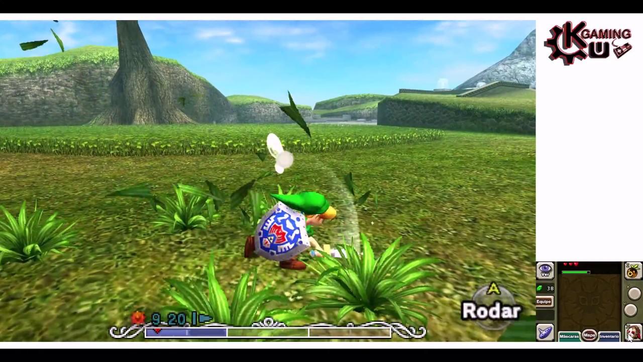 Zelda Majora's Mask 3D Citra 4K Graphics (4K 60FPS)