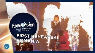 Romania 🇷🇴 - Ester Peony - On A Sunday - First Rehearsal - Eurovision 2019