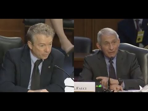 Rand Paul and Dr. Fauci Get Into GIANT FIGHT In Hearing Over Masks