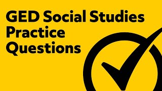 Free GED Social Studies [2018] Practice Test Questions