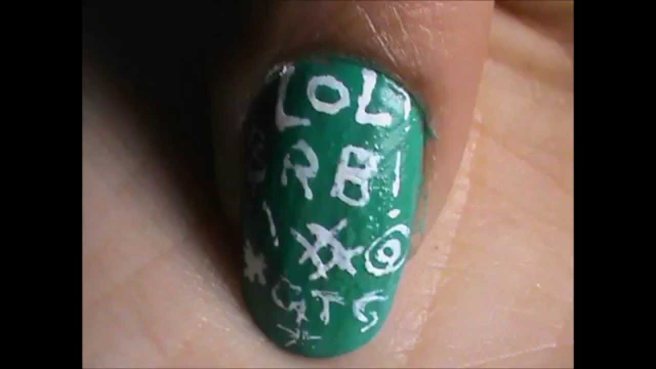 Internet Word Play Cool Nail Designs For Beginners Youtube
