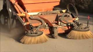 Video Industrial sweeper