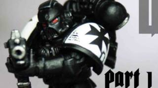 How to paint Black Templars Space Marines part 1 by Lester Bursley