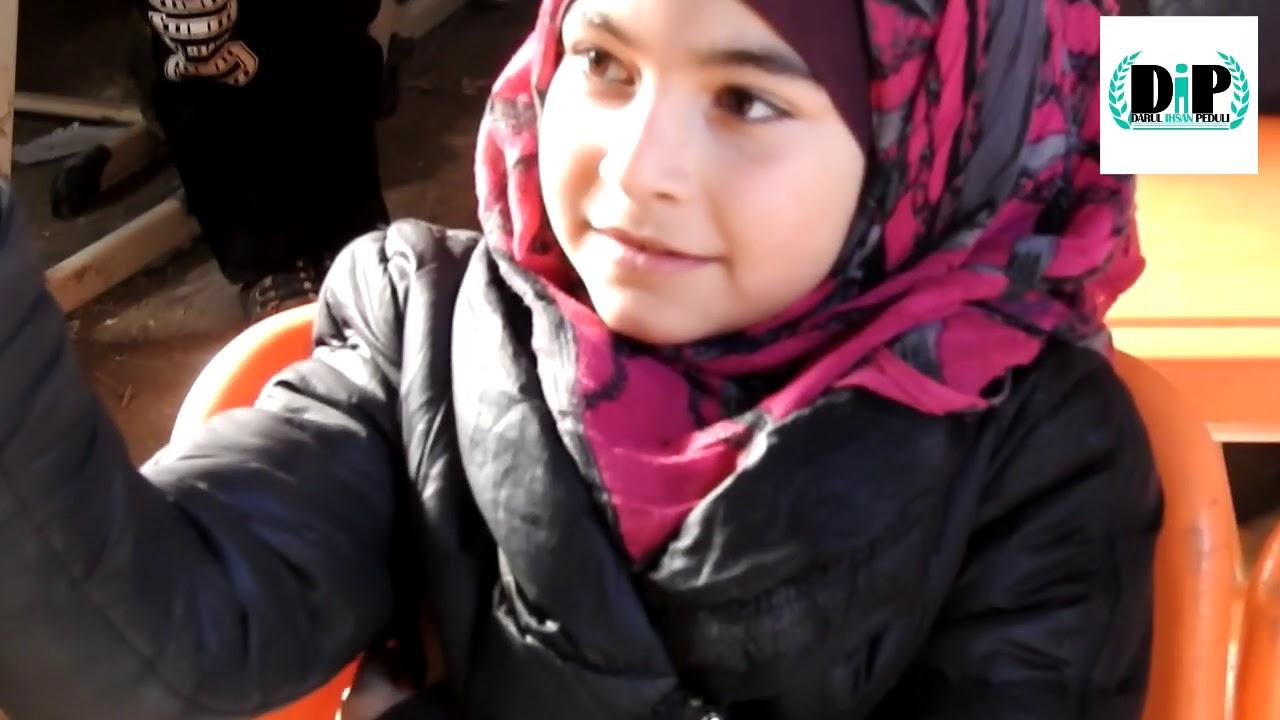 Program Indonesia bersama anak-anak Suriah