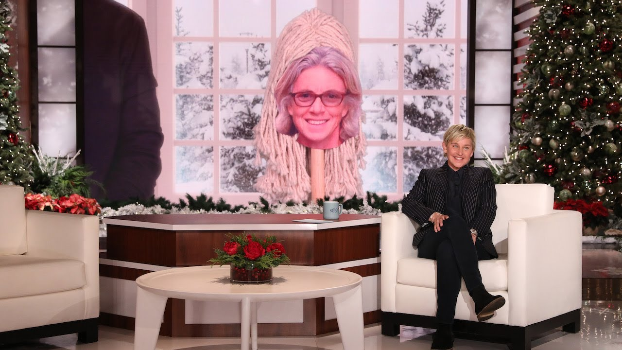 Ellen Previews Her Staff's Holiday Albums