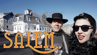 WITCH CITY AFTER HALLOWEEN | Salem, MA in November!