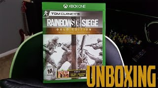 Rainbow Six Siege Gold Edition Unboxing! Secret Giveaway