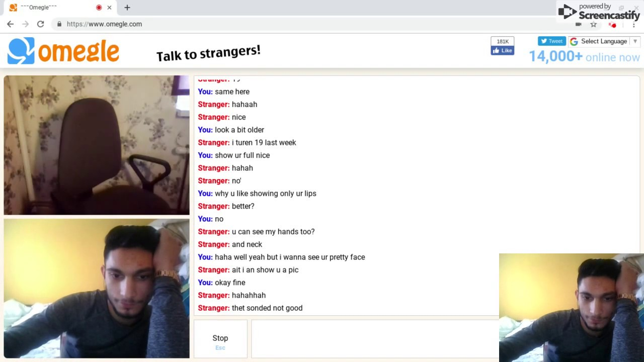 Omegle dirty chat