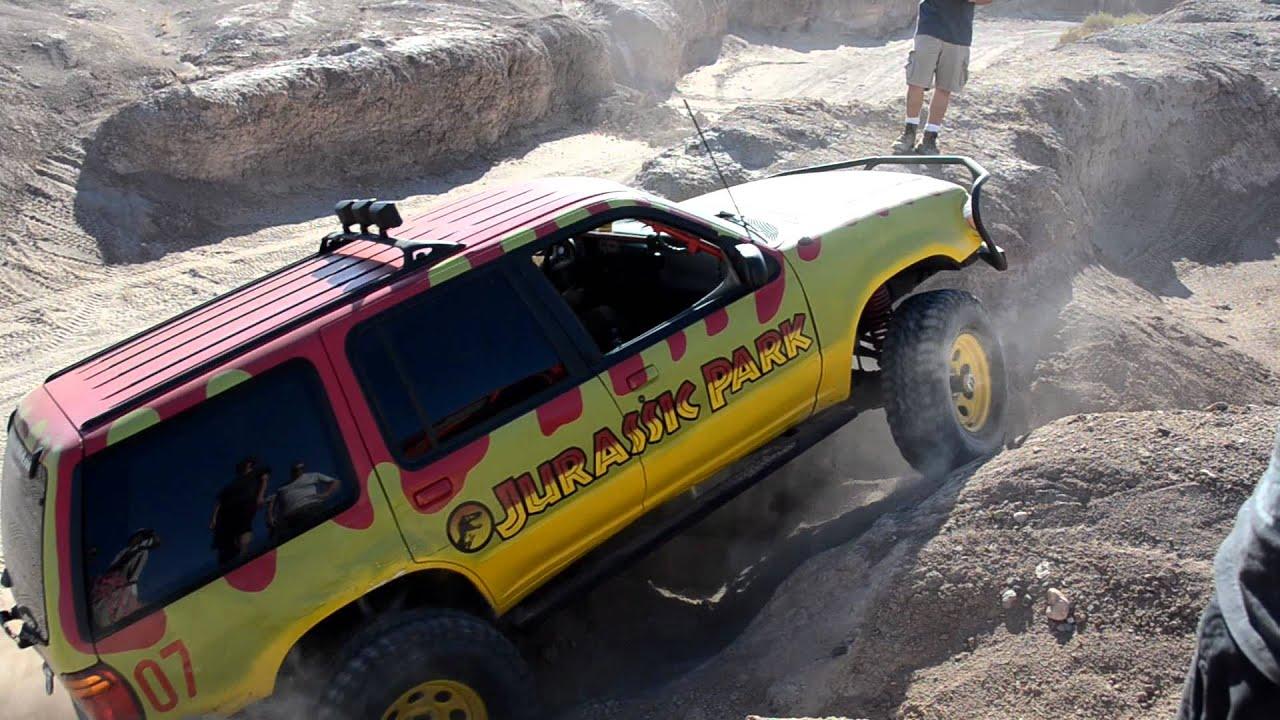Jurassic Park Ford Explorer Truck Haven Hills - YouTube