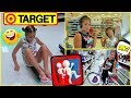 """TRYING TO GET KICKED OUT OF TARGET """"ALISSON&EMILY"""""""