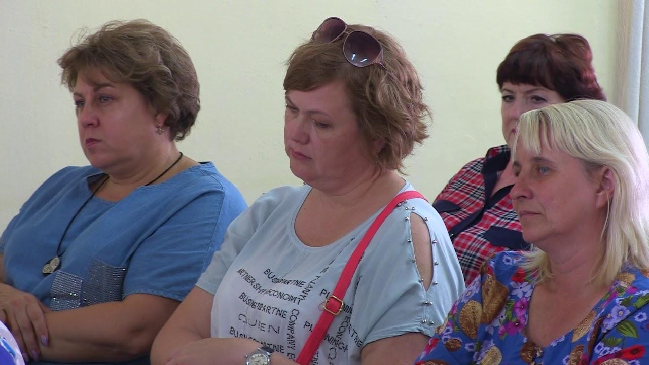 Лариса Савина побывала с рабочей поездкой в Быковском муниципальном районе