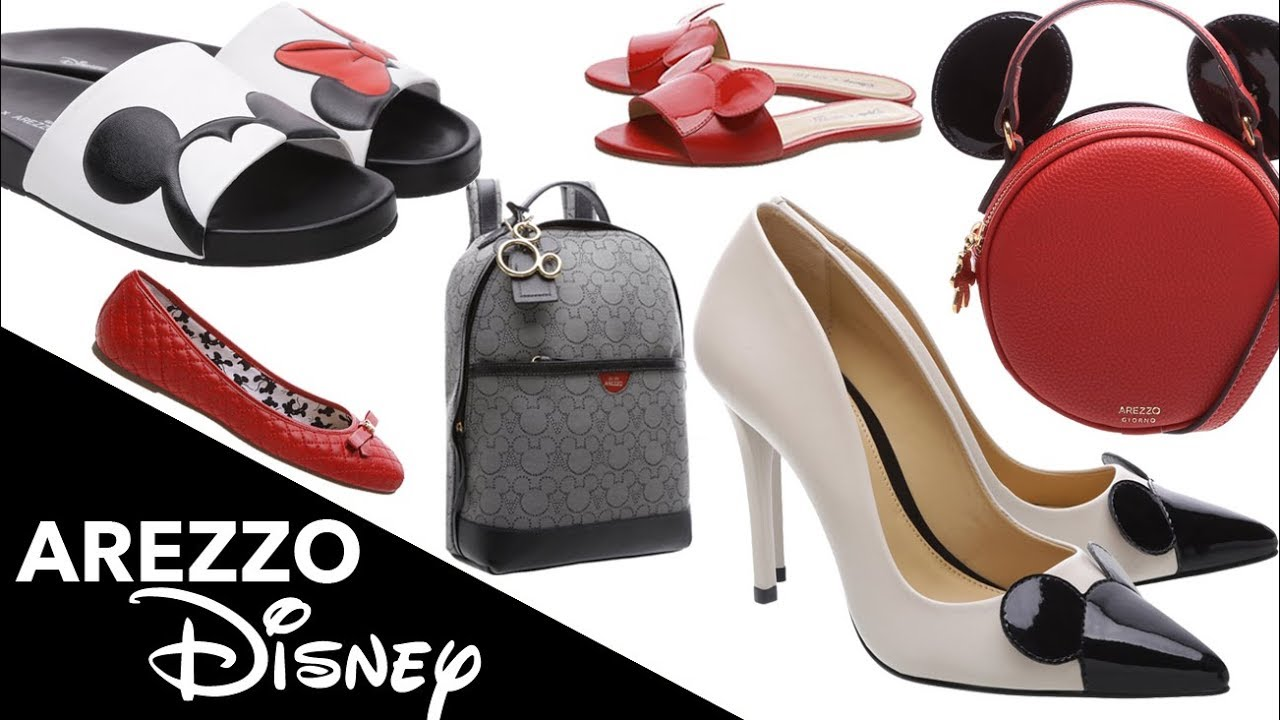 8d5be44ab Disney x Arezzo - Sapatos e Bolsas LINDAS! - Preços e Como Usar com DICAS  DE LOOKS!