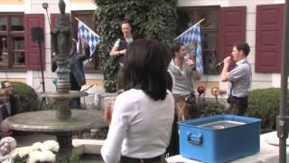 VoXXclub Flashmob beim Settele Maifest