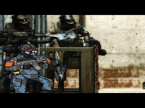 Half life 2 beta combine animations(remake video)