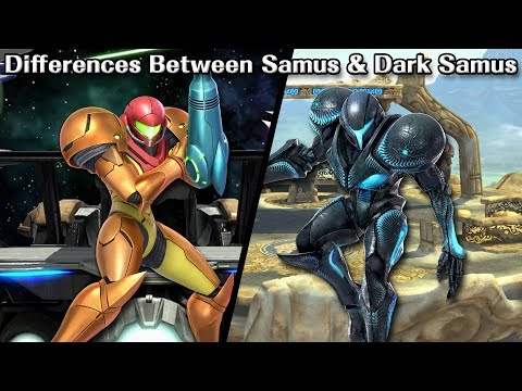 Differences Between Samus and Dark Samus
