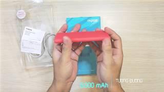 Mở hộp Pin sạc dự phòng RAPOO P20, P200 & P500