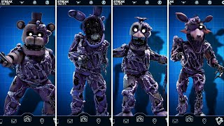 FNAF AR Special Delivery - Toxic Withered Animatronics Workshop Animations