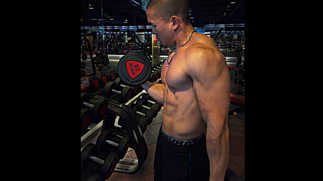 Arm Routine |健身 肌肥大手臂訓練 - YouTube