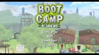 Boot Camp Academy Wii Gameplay
