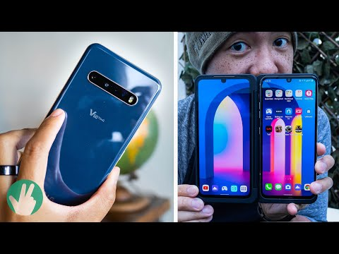 LG V60 ThinQ Hands On: Double trouble