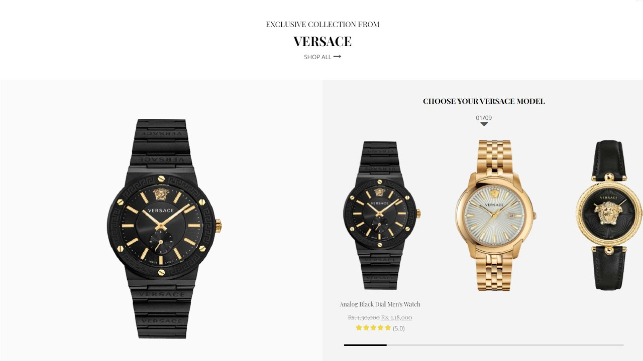 Watch Website   E-commerce Website using HTML , CSS and jQuery   Part 6(Gallery)