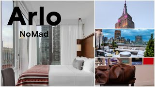 ARLO NOMAD || Midtown Manhattan, NYC - Stay in Arlo Nomad Hotel || Hotel Tour