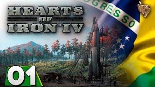"""Hearts of Iron IV Brasil #01 """"Boas Vindas Comunas"""" - Gameplay Português Vamos Jogar PT-BR"""