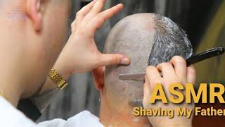 ASMR Head Shave - Best Asmr Sound At Barber Shop
