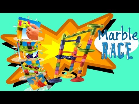 MARBLE RACE TOY UNBOXING FUN FOR KIDS | SUPERXAVIERTOYS