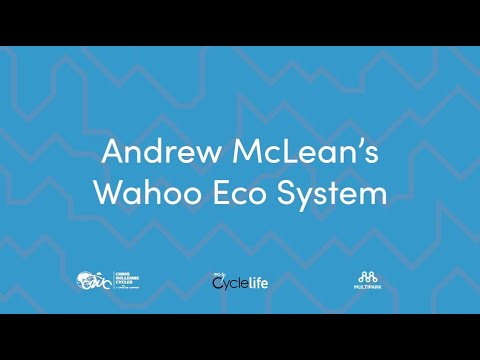 Andrew McLean's Wahoo Eco System