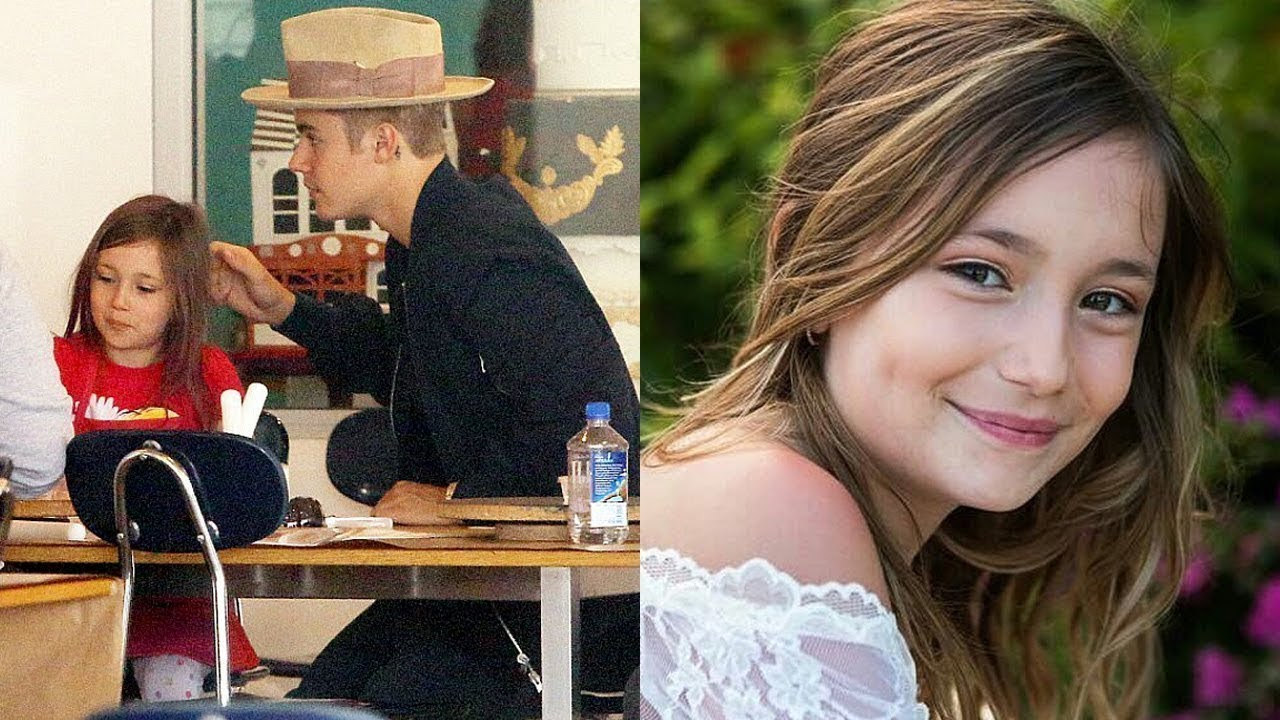 Justin Biebers Sister and brother (Jaxon Bieber and
