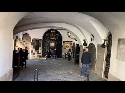 Eric Clark's Travel Videos - Zagreb Croatia - Stone Gate - 1 of the Top 10 Tourist Sites