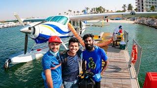 വെള്ളത്തിലെ വിമാന യാത്ര/ SEA PLANE Ride In Dubai