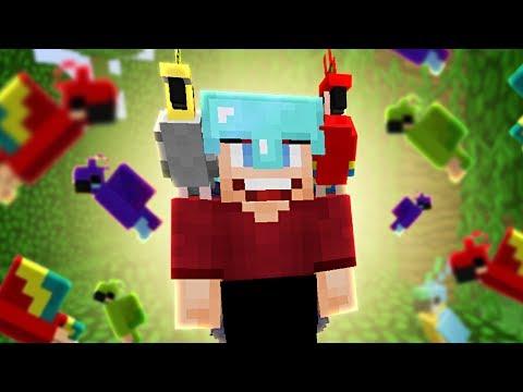 PAPEGAAIEN OP MIJN SCHOUDERS! - Minecraft Survival #248