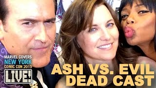 Bruce Campbell & Lucy Lawless land on Marvel LIVE!