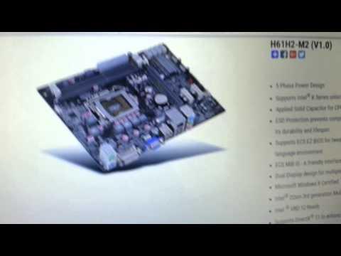 ECS H61H2-M2 BIOS Update Part 2