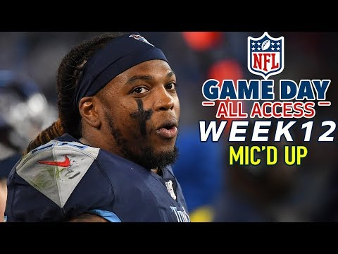 "NFL Week 12 Mic'd Up, ""Filet his a**!"" 