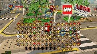 The Lego Movie Video Game: Unlocking Most of the Characters (Shopping Spree)(