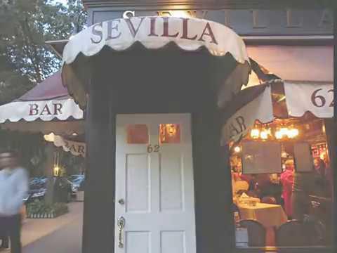 Slideshow Taking 5 In Sevilla Restaurant And Bar 62 Charles St West Village Youtube