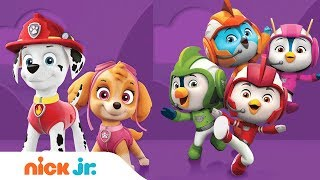 PAW Patrol 🐶 Top Wing 🐤 Blaze 🚗 & Peppa Pig 🐷  | Nick Jr.