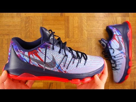 NIKE KD 8 PERFORMANCE OVERVIEW!