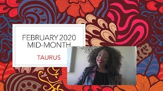 LIVE Taurus February Mid-Month + On-The-Spot Reading: Financial Peace.  Don't Over Do It.  Balance.""