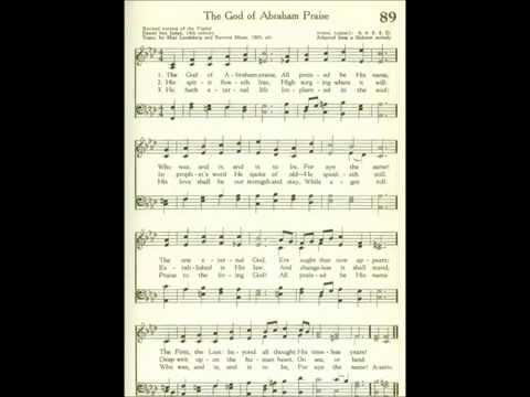 The God of Abraham Praise (Yigdal, Leoni)