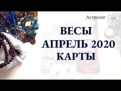 7. ВЕСЫ астро расклад АПРЕЛЬ 2020. Астролог Olga