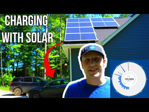 Charging Tesla Model S 3 X Y Using Solar Power | Can You Charge Your Electric Vehicle via Solar?