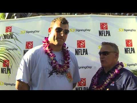 Pro Bowl OT Joe Thomas chats with SigningDay & The NFLPA