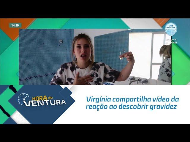 Virgínia Fonseca compartilha vídeo da reação ao descobrir gravidez