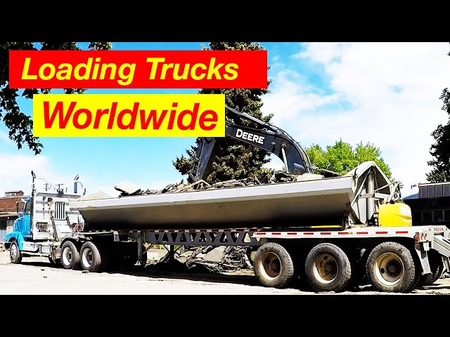 Loading trucks different trucks loading worldwide using different techniques