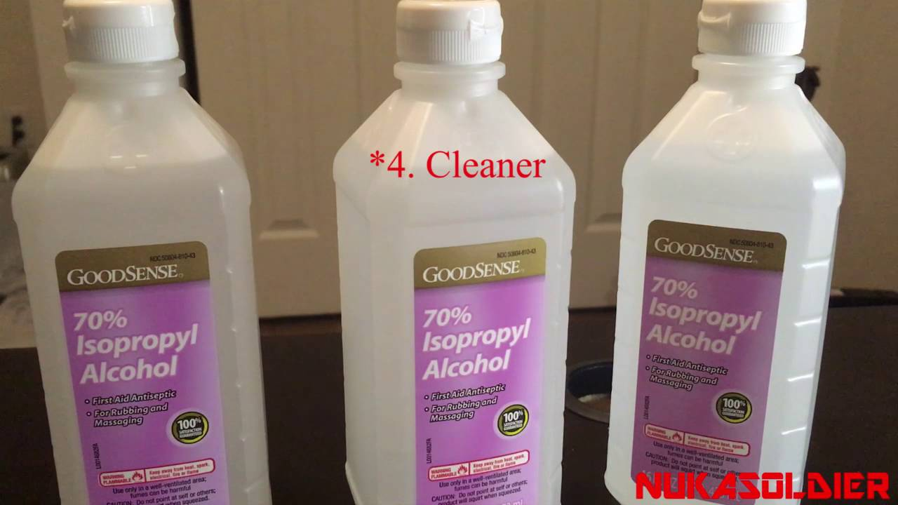 Isopropyl Rubbing Alcohol Uses SHTF - Every Prepper Needs This!